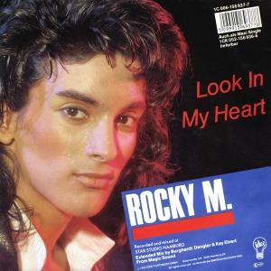 - 188 - Rocky M - Look In My Heart 7''
