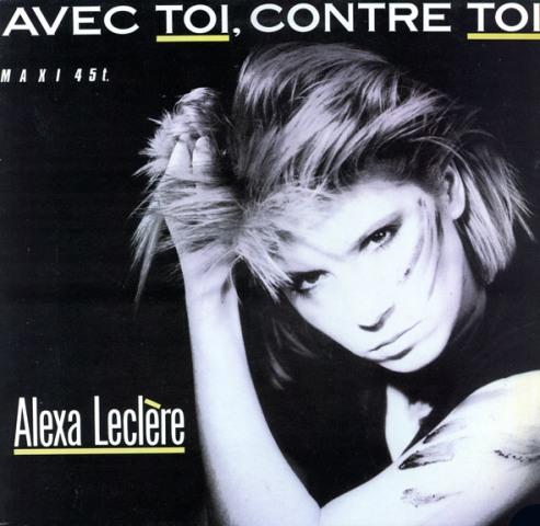 Alexa Leclere - Avec Toi, Contre Toi (Front)
