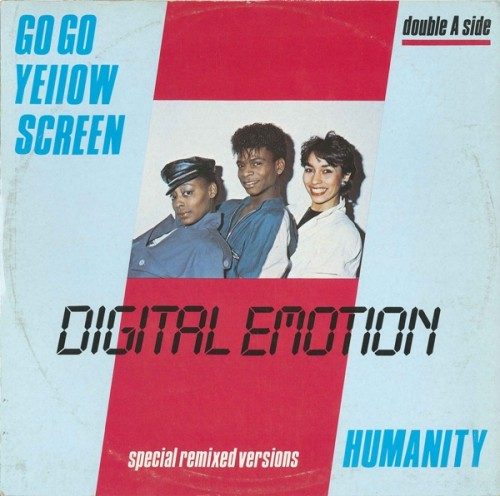 - 163 - Digital Emotion Go Go Yellow Screen